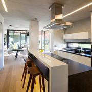 家居厨房吧台设计
