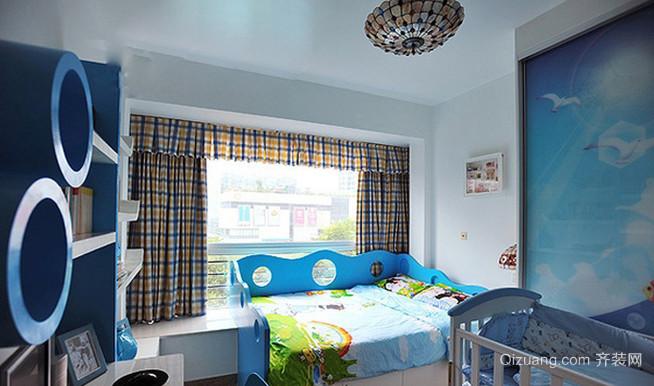 环境怡人的地中海风格儿童房设计装修效果图