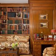 古典美式书房