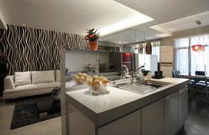 奢华大气简洁三室一厅新房装修效果图