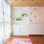 儿童房木质吊顶