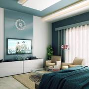 纯净卧室图