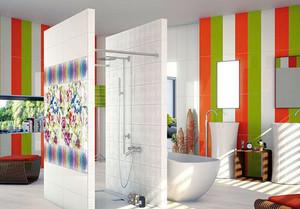 色彩鲜艳卫生间