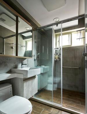 实用趣味混搭三居室卫生间装修效果图