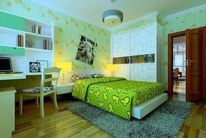 绿色儿童房