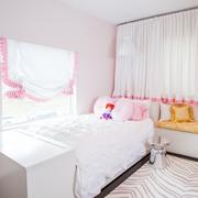 纯净洁白的儿童房效果图