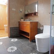木质卫生间浴室柜设计