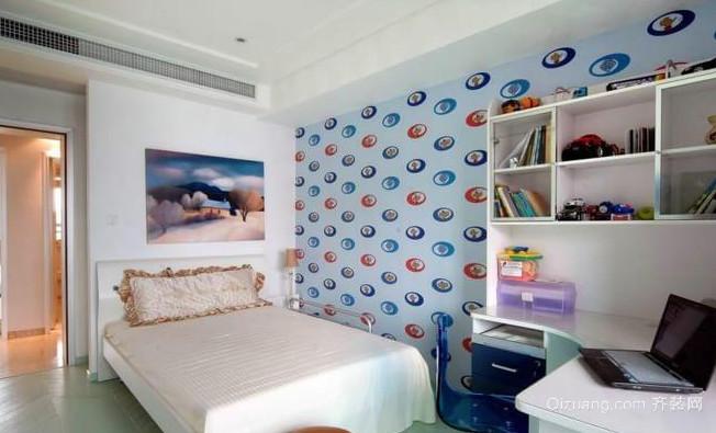 96平米现代都市风格的儿童房设计装修效果图
