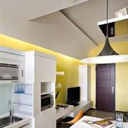 房屋厨房灯饰展示