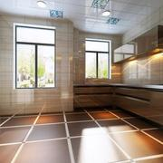 简约厨房地板