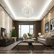现代新古典大型窗帘设计