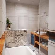 公寓卫生间瓷砖