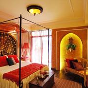 家居温暖卧室设计图
