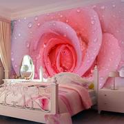 美丽的卧室背景墙展示