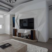 客厅精致电视背景墙设计
