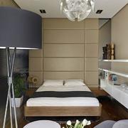 公寓卧室软包背景墙设计