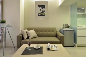 专属于您的温馨一居室小户型单身公寓装修效果图