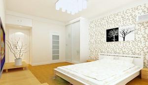 纯美简约别墅卧室设计