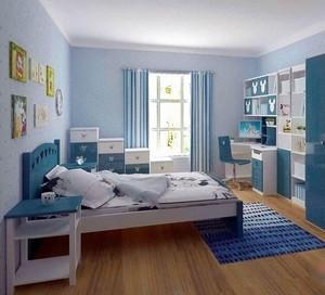 弥漫着稚气的儿童房装修效果图