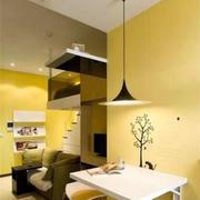 房屋餐厅灯饰图片