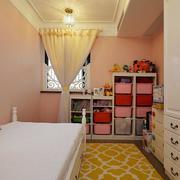 现代儿童房展示