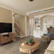 简约清新别墅客厅设计