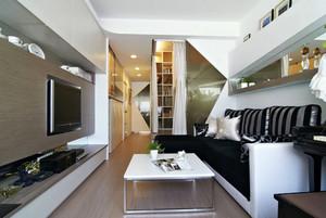 客厅时尚沙发图