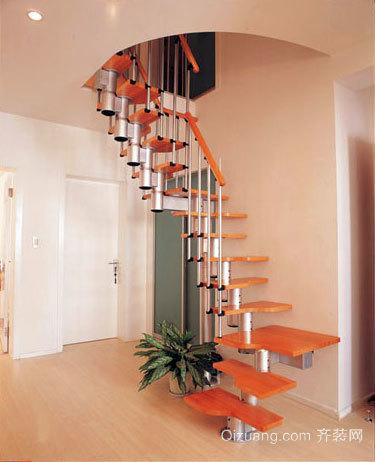 118平米经典阁楼楼梯装修效果图大全
