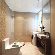 清新浴室装修图