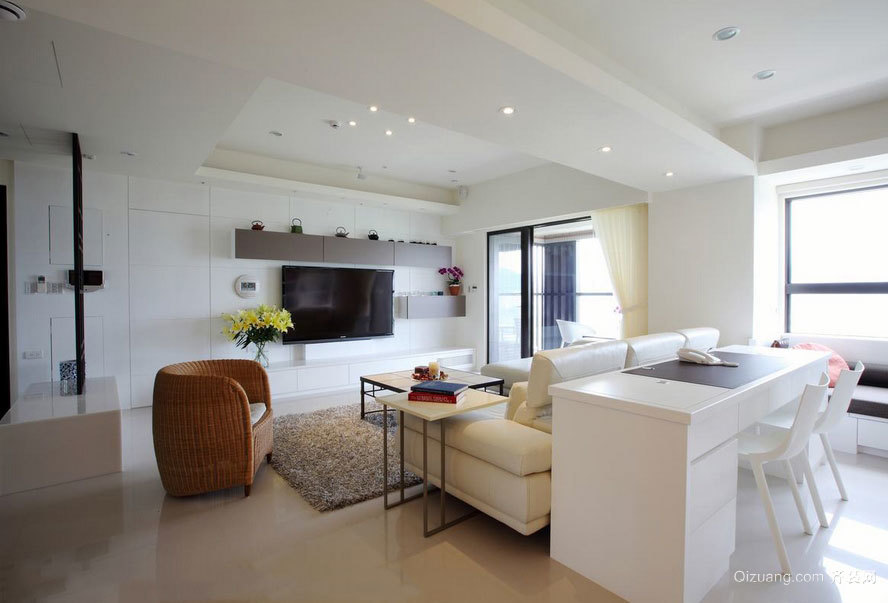 历久弥新三室一厅整体家装装修效果图