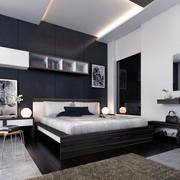 都市大户型卧室图
