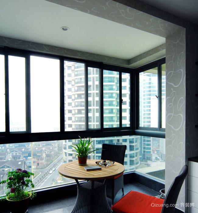 款式各异的东南亚风格阳台设计装修效果图