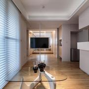 客厅百叶窗设计