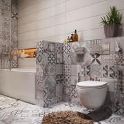 公寓卫生间马桶设计