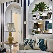 房屋客厅台灯设计