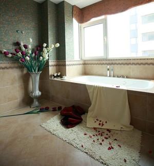 120平米混搭中西合璧的杂糅婚房装修效果图