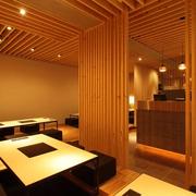 日式风格饭店榻榻米设计