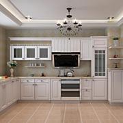 大户型厨房橱柜装修图