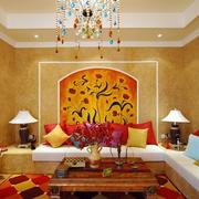 家居彩色客厅设计