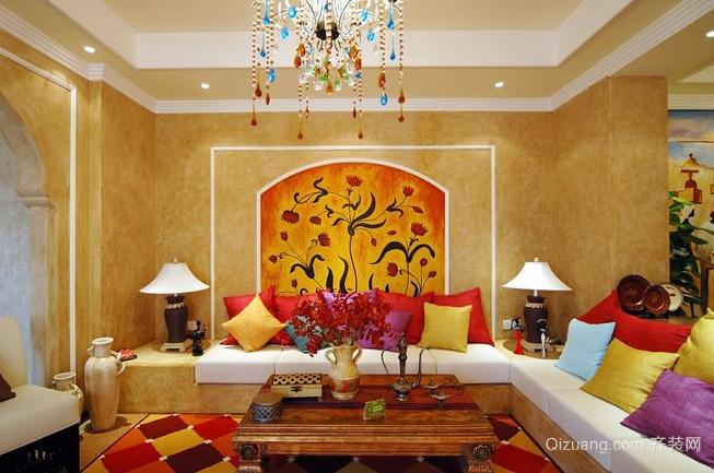 热情的东南亚风格别墅家居装修效果图鉴赏