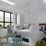 地中海风格卧室装修图