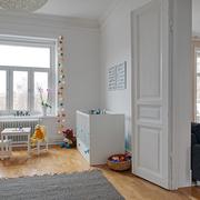 北欧风格儿童房装修图
