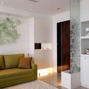 房屋客厅玄关设计