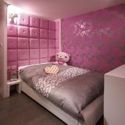 粉色儿童房壁纸图片展示