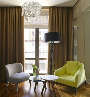 极具创意一居室小户型公寓装修效果图