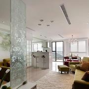 现代时尚房屋客厅吊顶设计