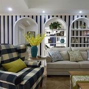 小型房屋沙发背景墙设计