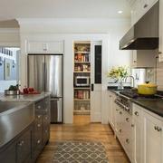 厨房隐形门效果图