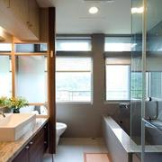 房屋简约卫生间图片