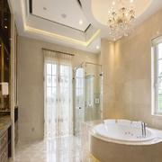 别墅简欧风格浴室